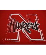 NCAA Nebraska Cornhuskers College University School Fan Jansport Red T S... - $17.86