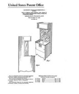 USA Patent Peppy the Clown Arcade Games 50's Drawings - $15.52