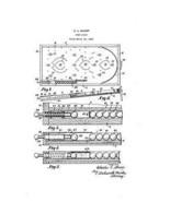 USA Patent Sharp Shooter Bagatelle Pinball Plun... - $15.52