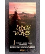 Dances with Wolves Starring Kevin Costner VHS Factory Sealed - $2.07