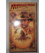Indiana Jones And The Last Crusade (VHS, 1990) Harrison Ford Brand New S... - $4.26