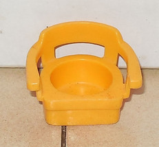 Vintage Fisher Price Little People Yellow Captins Chair FPLP #725 938 95... - $5.90