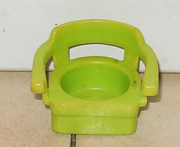 Vintage Fisher Price Little People Lime Green Captins Chair FPLP #725 72... - $5.90