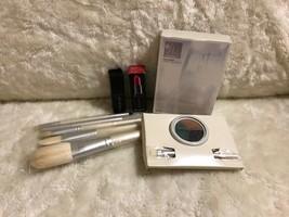 Smashbox Cosmetics Lot, Brushes, Lipstick, Cream Eyeliner - $54.99