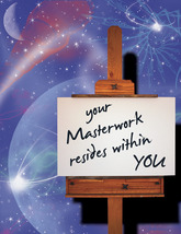ART & PAINTING: Unique Blank Card, Spiritual, Philosophical - $4.25