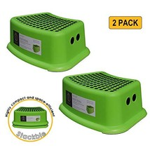 dbHOME 2 Pack Kids Step Stool - Great for Potty Training Step Stool for Kitchen,