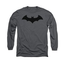 Simply Superheroes Mens batman hush logo mens long sleeve t shirt Small - $24.99