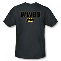 Simply Superheroes Mens batman what would batman do mens t shirt 3XL - $23.99