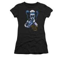 Simply Superheroes Womens batman arkham asylum harley quinn inmate juniors t ... - $23.99