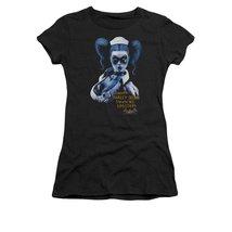 Simply Superheroes Womens batman arkham asylum harley quinn inmate juniors t ... - $21.99