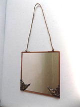 Anthropologie Admiral Hanging Mirror with Steampunk Gothic Corner Accents - $24.99