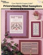 7 Prizewinning Mini Samplers BH&G Cross Stitch Pattern - 30 Days to Pay! - $2.67