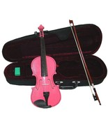 Crystalcello 3/4 Size Pink Violin with Case and Bow - $35.00