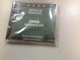 2004 Jeep WRANGLER Service Shop Workshop Repair... - $178.15