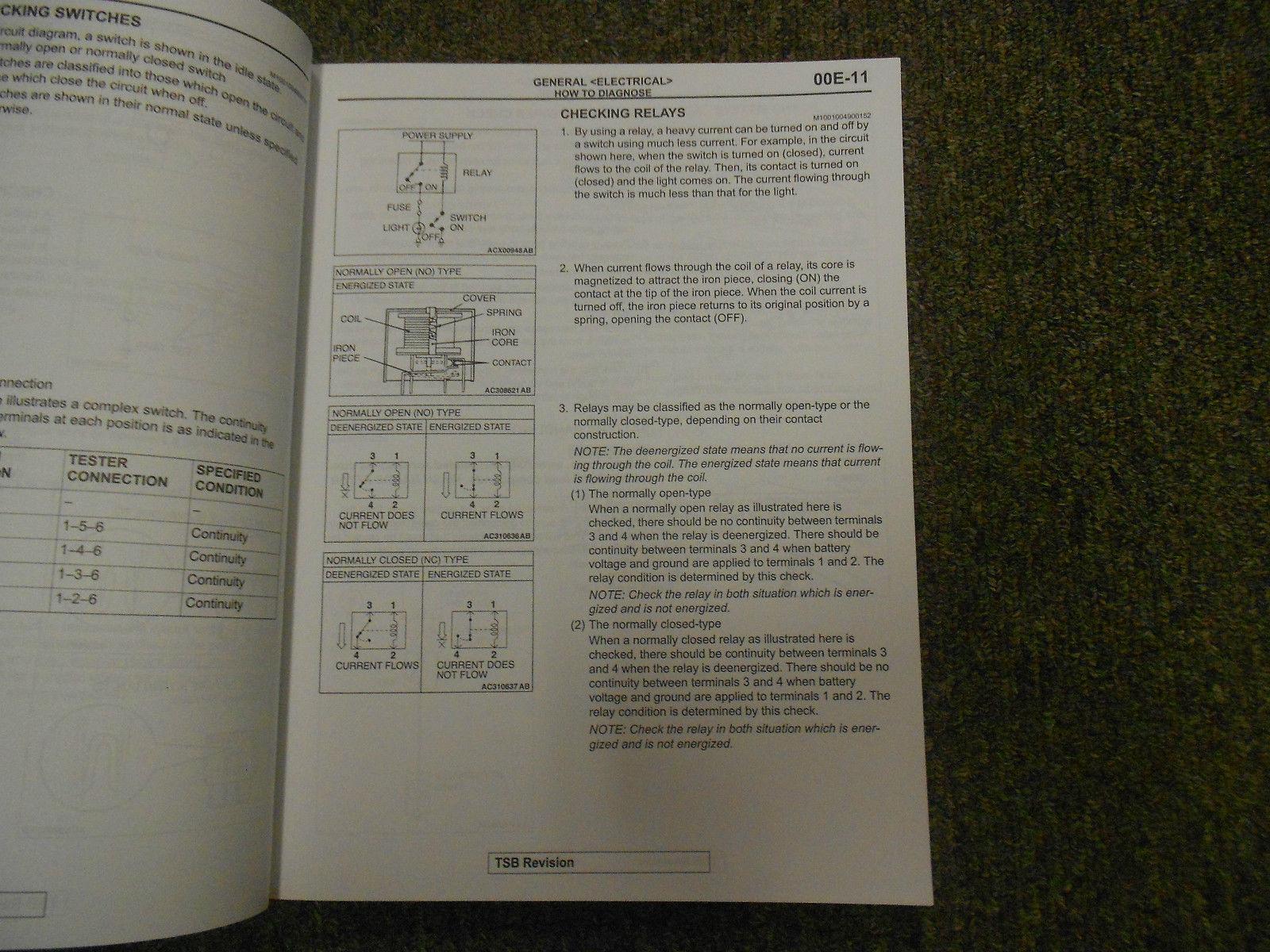 ... 2006 MITSUBISHI Lancer Electrical Supplement Service Repair Shop Manual  OEM 06 ...