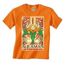 Simply Superheroes Mens aquaman leaping mens t shirt Small - $19.99