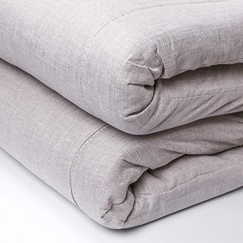 Ekorganix 100 Pure Flax Linen Futon Mattress Filled With