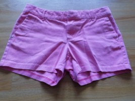 Girls Size 10 SO Solid Pink Cotton Summer Shorty Shorts Adjustable Waist... - $12.00