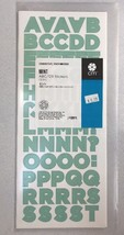 NEW in Pkg Creative Memories Mint Decorative ABC/123 Stickers-3 sheets - $7.70