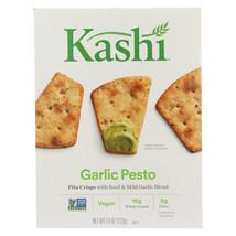 Kashi Pita Crisps Garlic Pesto - Pita Crisps - Case of 12 - 7.9 oz. - $71.70