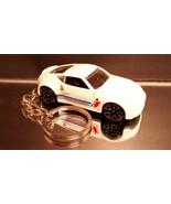 White Nissan 370Z Key Chain Ring - $14.24