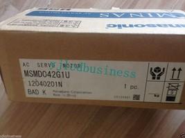 MSMD042G1U new 400W 0.4KW Panasonic AC Servo Motor 90 days warranty - $299.25