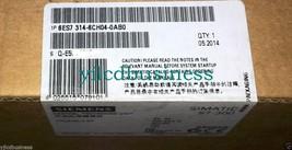 new 6ES7 314-6CH04-0AB0 Siemens module 90 days warranty - $1,900.00