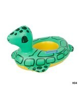 Swim Ring Inflatable Child Toy Baby Swimming Seat Armpit Circle Beach Po... - $267,53 MXN