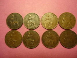 1898 ENGLISH FARTHING ( YOU ARE BIDDING ON THIS LISTED ITEM ONLY ) ... W... - $5.00