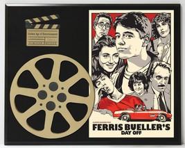 Ferris Bueller's Day Off Matthew Broderick Limited Edition Movie Reel Display - $66.45