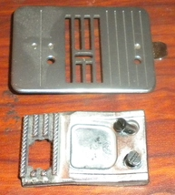 Brother VX-1010 Feed Dog #129373051 w/Screws & Throat Plate #130967001 W... - $12.50