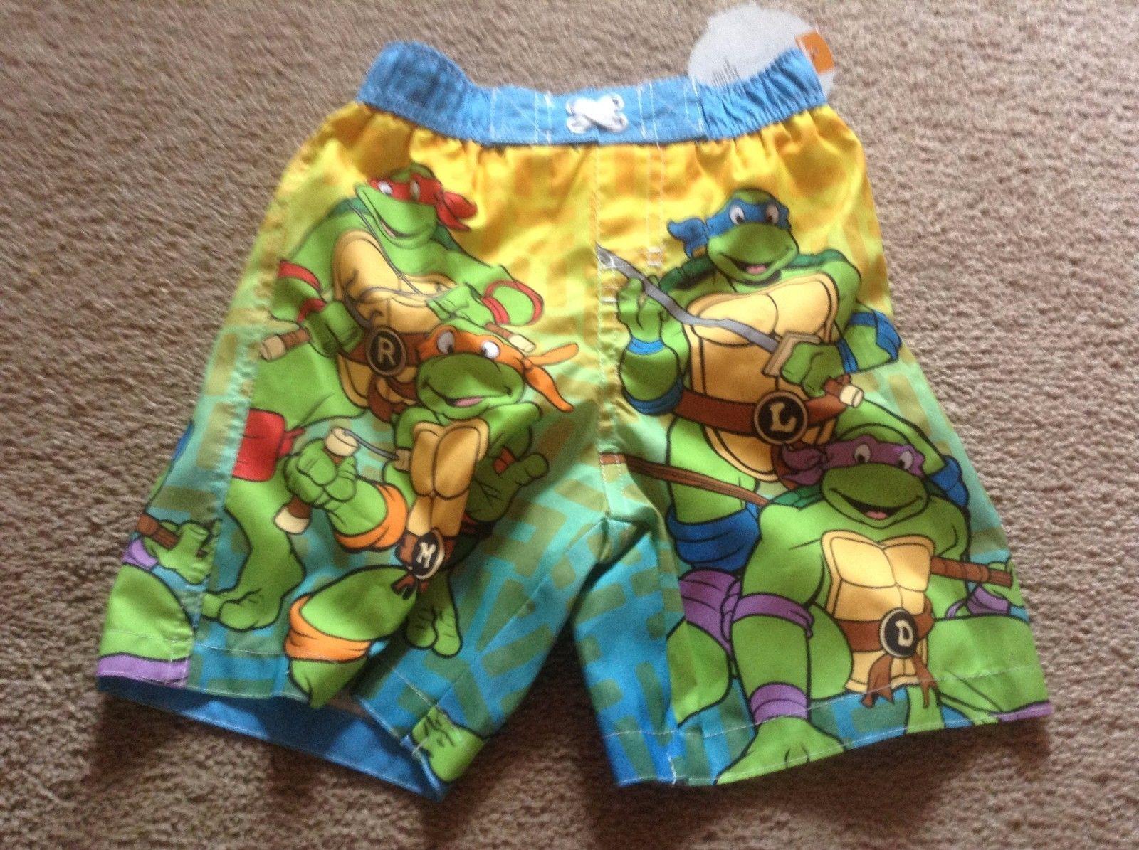 3d6a81e287518 S l1600. S l1600. Nickelodeon Teenage Mutant Ninja Turtles Toddler Boy's Swim  Trunks Size ...