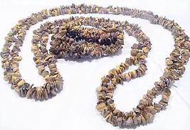 Gemstone Rock Chips Necklace & Stretch Bracelet Fashion Set by MetroStyle image 1