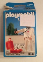 Playmobil 3340 Doctor With Tools Stethoscope Medic Bag Open Box Sealed B... - $24.99