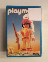 PLAYMOBIL 3395 Indian Chief 1990 New in Box - $12.99