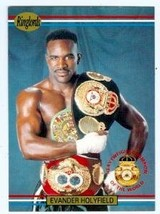 Evander Holyfield Boxing Card 1991 Ringlords #1 - $4.00