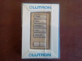 LUTRON DESIGNER BUTTON KIT ( RKD-W5BRL-DS-E ) - $19.80