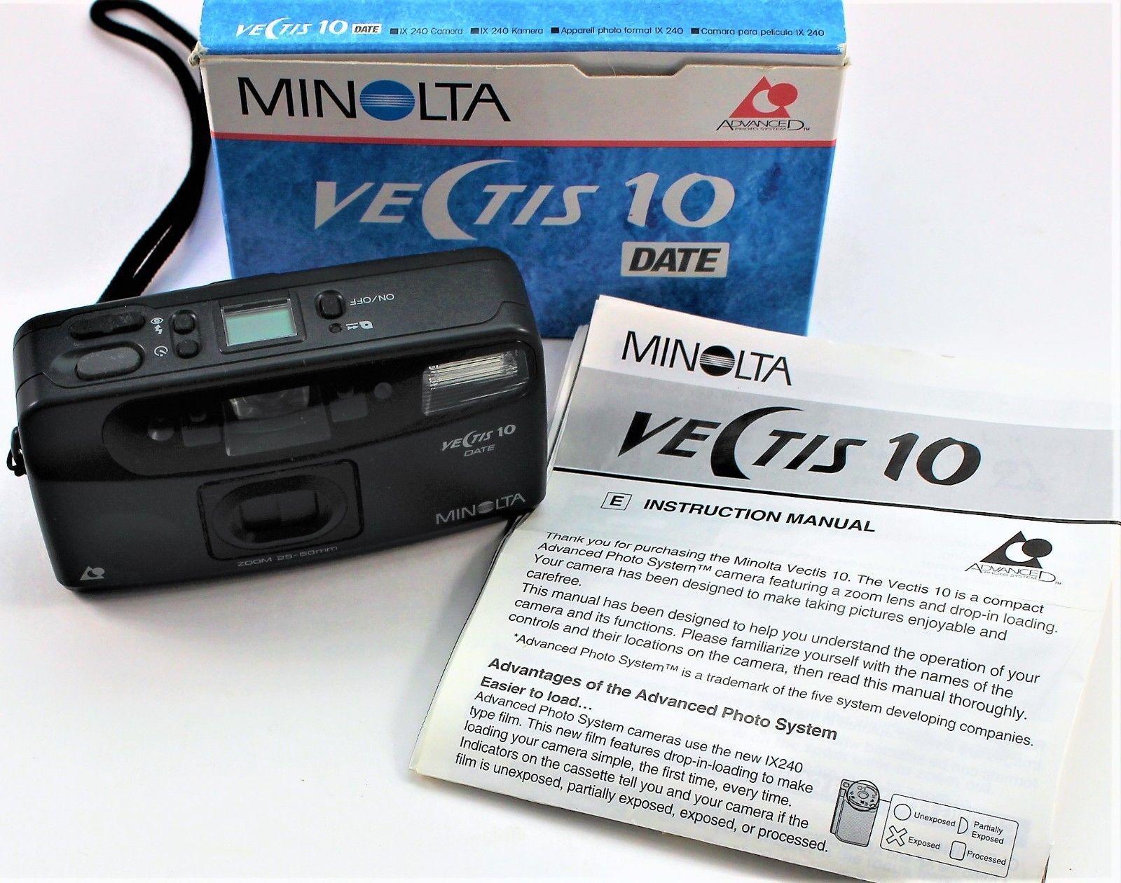 Vectis 10 Date Camera by Minolta