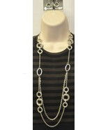 Premier Designs Runway Necklace & Earrings - $50.00