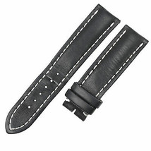 Breitling 435X-A20BA.1 22-20mm Black Leather Mens Watch Strap - $217.55