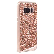 CaseMate Brilliance Shockproof Case for Samsung Galaxy S8 Plus Pink Gold... - $74.89