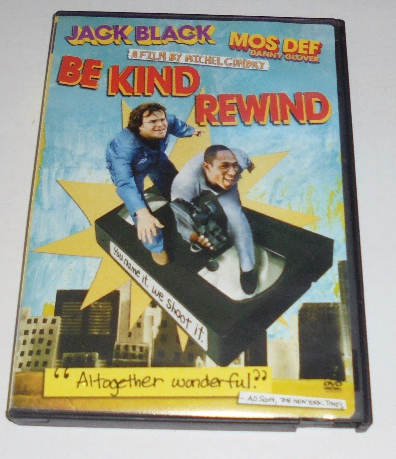 Be Kind Rewind (DVD, 2008) Jack Black, Mos Def Comedy Movie