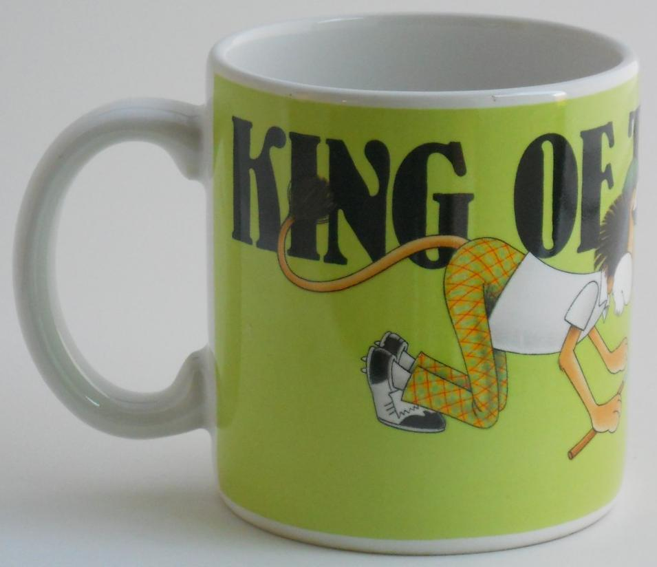 Primary image for 1988 Dakin King Of The Course Golf Coffee Cup Mug Golfer Golfing Lion