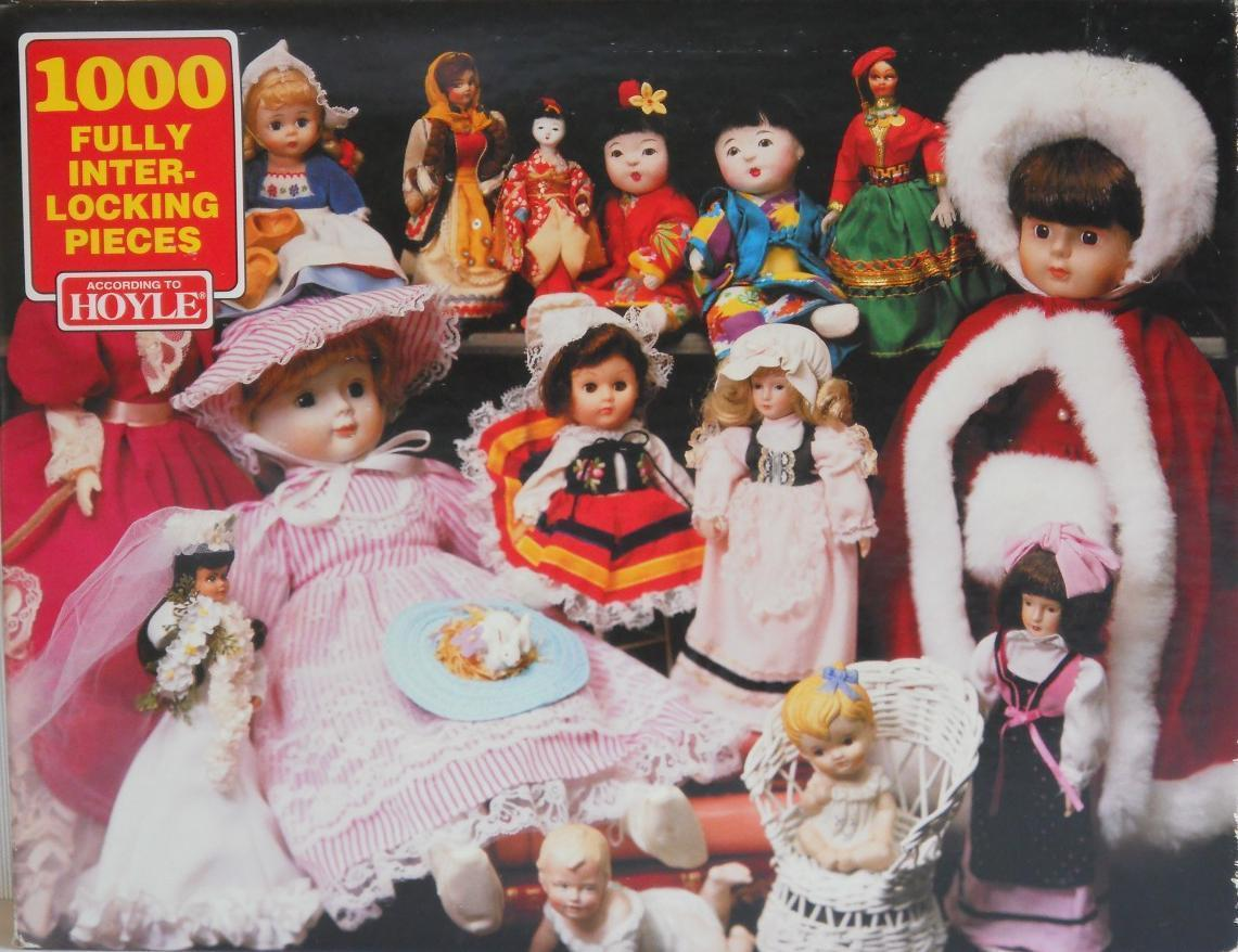 Primary image for 1995 Hoyle ~ DOLLS ~ 1000 PC Puzzle ~ New Sealed ~ Toys