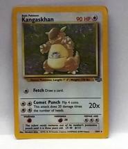 Pokemon Kangaskhan Jungle Set Holo Card 5/64 - $11.76
