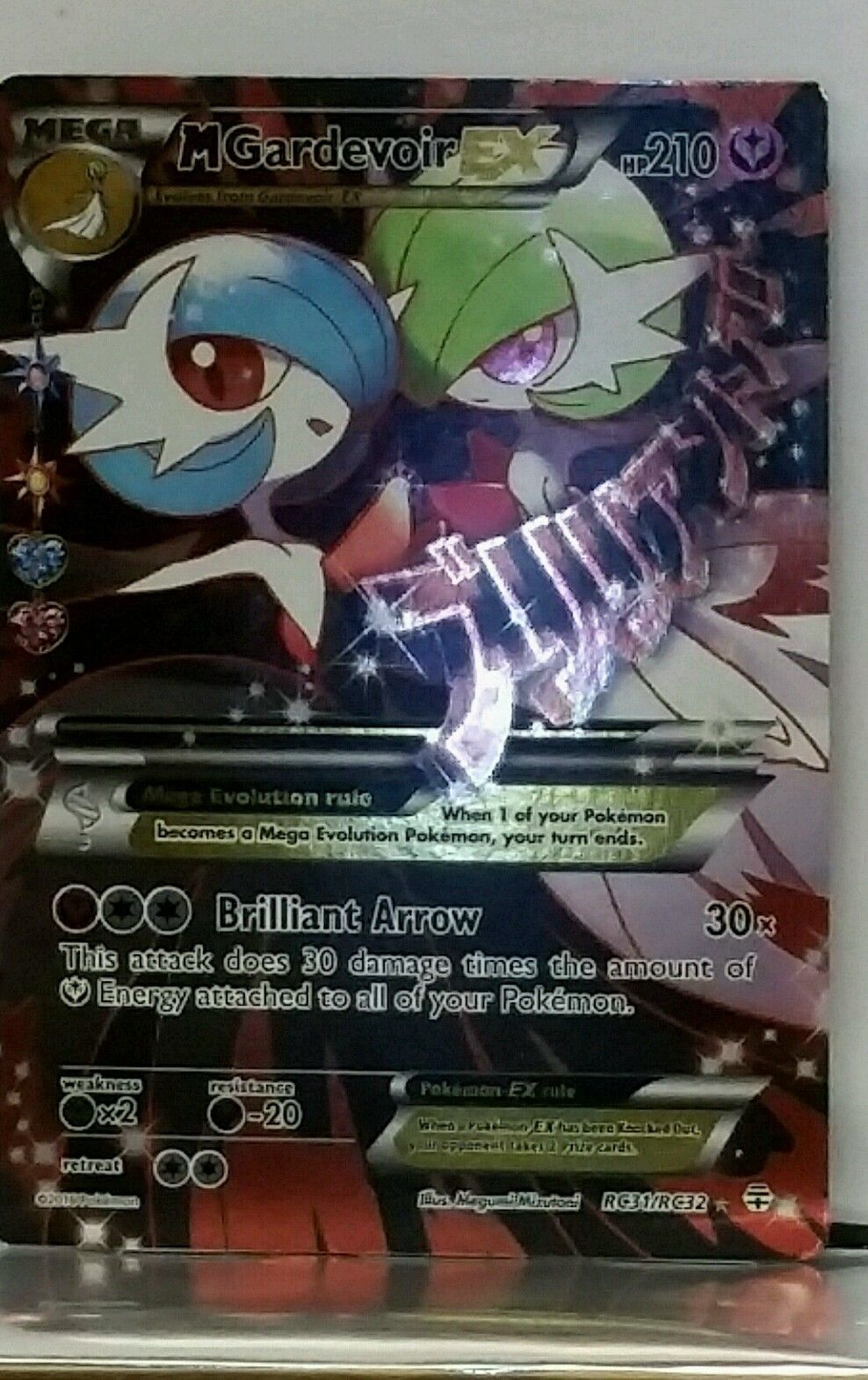 Radiant Collection RC31//RC32 Mega Gardevoir EX Rare Ultra Holo Mint Pokemon Card