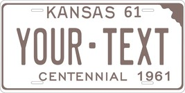 KS 1961 Personalized Tag Vehicle Car Auto License Plate - $16.75