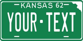 KS 1962 Personalized Tag Vehicle Car Auto License Plate - $16.75