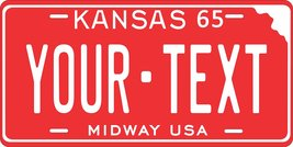 KS 1965 Personalized Tag Vehicle Car Auto License Plate - $16.75
