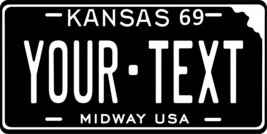KS 1969 Personalized Tag Vehicle Car Auto License Plate - $16.75